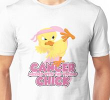 Breast Cancer Messed With The Wrong Chick Unisex T-Shirt