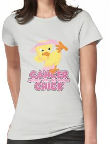 Breast Cancer Messed With The Wrong Chick Womens Fitted T-Shirt