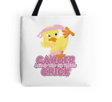 Breast Cancer Messed With The Wrong Chick Tote Bag