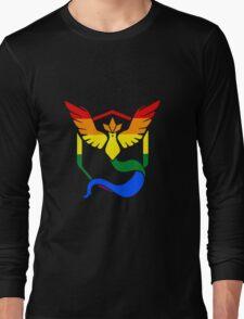 Team Mystic: Gay Pride Long Sleeve T-Shirt