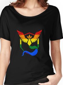 Team Mystic: Gay Pride Women's Relaxed Fit T-Shirt