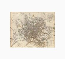 Vintage Map of Birmingham England (1839) Unisex T-Shirt