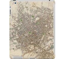 Vintage Map of Birmingham England (1839) iPad Case/Skin