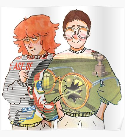 The Buggles Poster