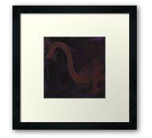 Nessy Framed Print