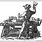 Toolemera Press Logo - The Woodworker by toolemera