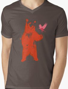 Bear & Bird Mens V-Neck T-Shirt