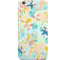 Girly Floral Anchor iPhone Case/Skin