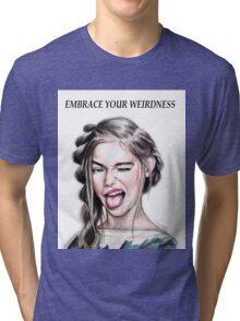 WEIRDNESS Tri-blend T-Shirt