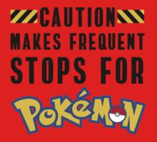 Caution: Frequent Stops, Pokemon Go One Piece - Long Sleeve