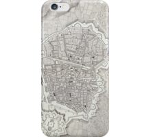 Vintage Map of Barcelona Spain (1806) iPhone Case/Skin