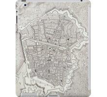 Vintage Map of Barcelona Spain (1806) iPad Case/Skin