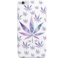 Galaxy Cannabis Leaf iPhone Case/Skin