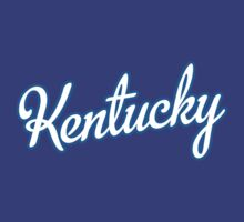 Kentucky Script White  by Carolina Swagger