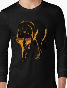 A Shady Wolf Long Sleeve T-Shirt