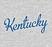 Kentucky Script Blue VINTAGE by Carolina Swagger