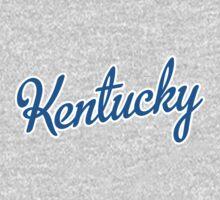 Kentucky Script Blue  by Carolina Swagger