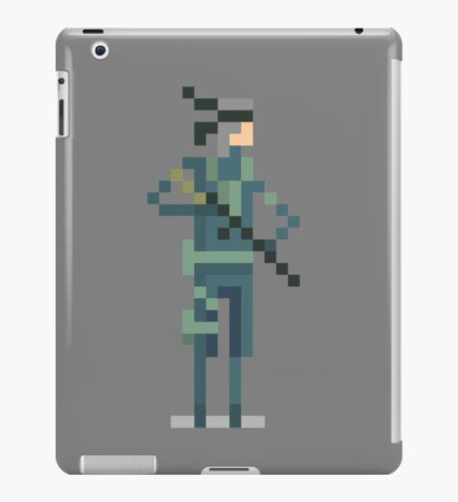 Metal Gear's - Solid Snake iPad Case/Skin