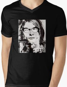 kurt cobain new wave Mens V-Neck T-Shirt