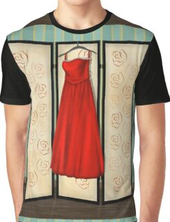 Red Dress Graphic T-Shirt