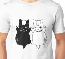 Nyanko-sensei and Nisenyanko-sensei Unisex T-Shirt