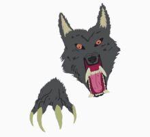 Werewolf Attack Baby Tee