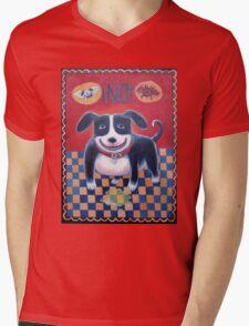 NO Dog! Mens V-Neck T-Shirt