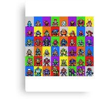 NES Robot Masters Canvas Print