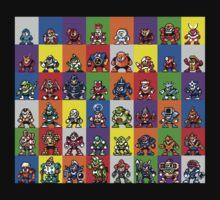 NES Robot Masters by MyNameIsAlex