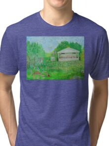 Rob Gamble's Sterling Stage Painting #1 Tri-blend T-Shirt