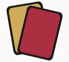 Referee red yellow card by Designzz
