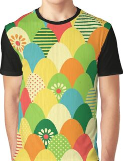Cute,cool,colorful,egg head,pattern,fun trendy,abstract Graphic T-Shirt