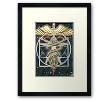 Healing Activation Framed Print