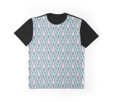 Abstract geometrical triangles or stylized forest. Seamless pattern with triangles Graphic T-Shirt
