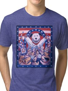 Presidential Pup Tri-blend T-Shirt