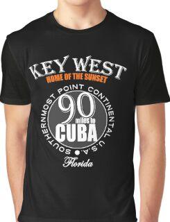 Sunset Key West Graphic T-Shirt