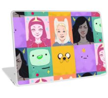 Adventure Time Portraits Laptop Skin