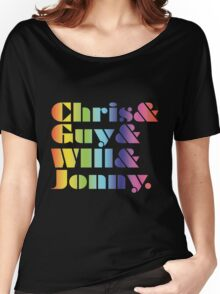Coldplay Band Members Women's Relaxed Fit T-Shirt