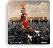 Future Jordan Canvas Print