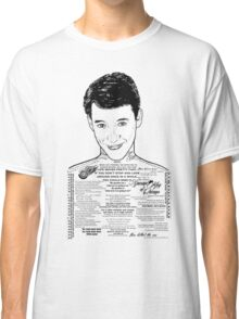 Save Ferris The Righteous Dude Classic T-Shirt