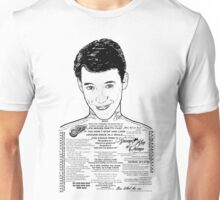 Save Ferris The Righteous Dude Unisex T-Shirt