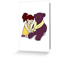 Beautiful Babies and Mental Teddies 4 Greeting Card