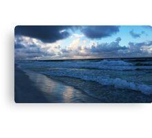 Gulf Shore Sunrise Canvas Print