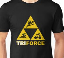 The TRIforce (yellow)  Unisex T-Shirt