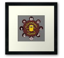 Stretchy Jake Framed Print