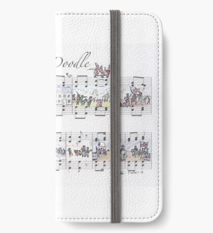 Yankee Doodle Sheet Music Art iPhone Wallet/Case/Skin