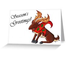 Merry Christmas from Maine! Greeting Card