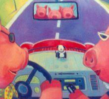 Puercos Viajeros (Traveling Pigs) Sticker
