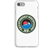 GREAT SMOKY MOUNTAINS NATIONAL PARK TENNESSEE NORTH CAROLINA iPhone Case/Skin