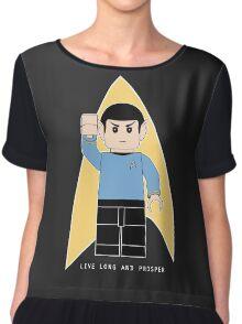 Lego Spock Chiffon Top